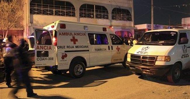 Gunmen kill 11 in drug rehab center in Mexico