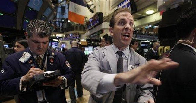 A mixed close on Wall Street as calm returns