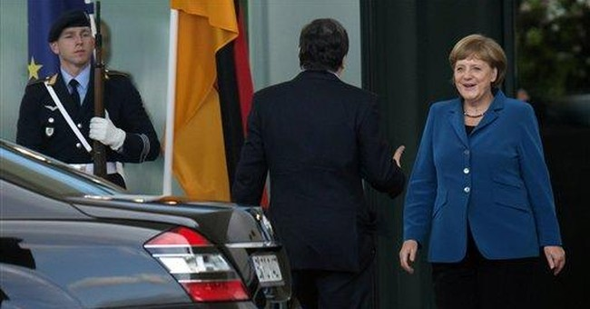 Merkel open to idea of European banking union