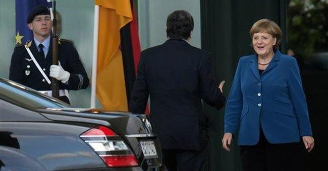 Merkel open to idea of European banking union