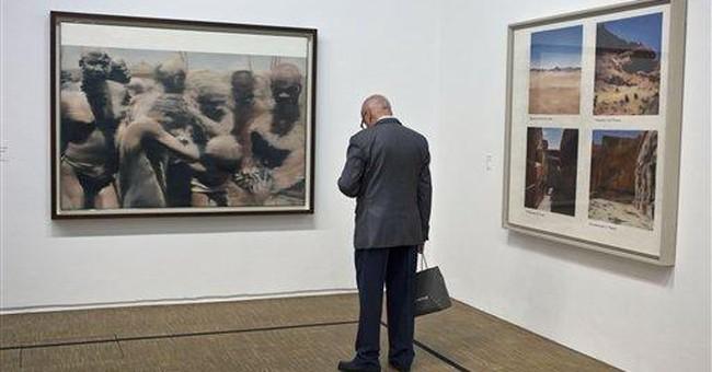 Gerhard Richter opens largest exhibit in Paris