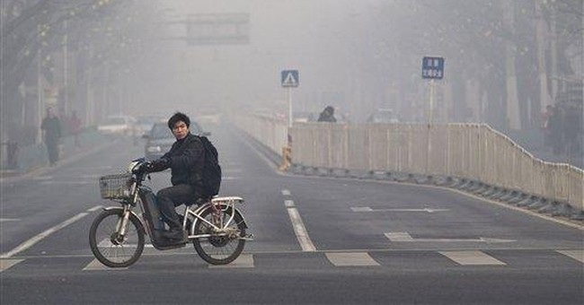 China tells US to stop tweets on Beijing's bad air