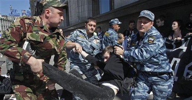 Russia fine for protesters may surpass nuke crimes