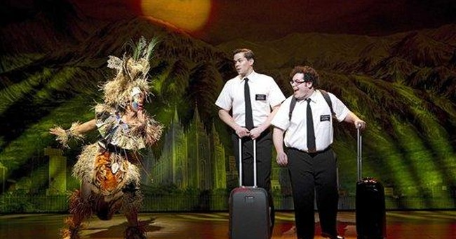'Book of Mormon' fans gather in NY for free show