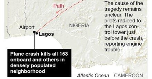 Bereaved walk among dead after Nigeria plane crash