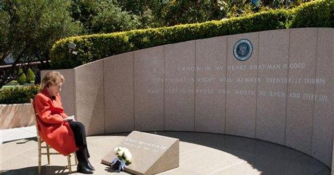 Reagan commemorates husband's death 8 years ago