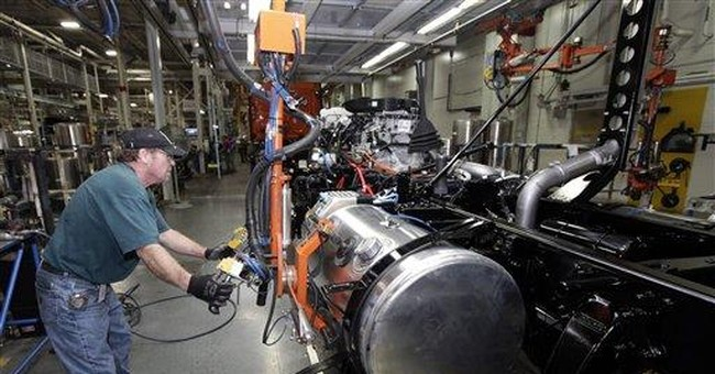 US worker productivity fell 0.9 pct. annual rate
