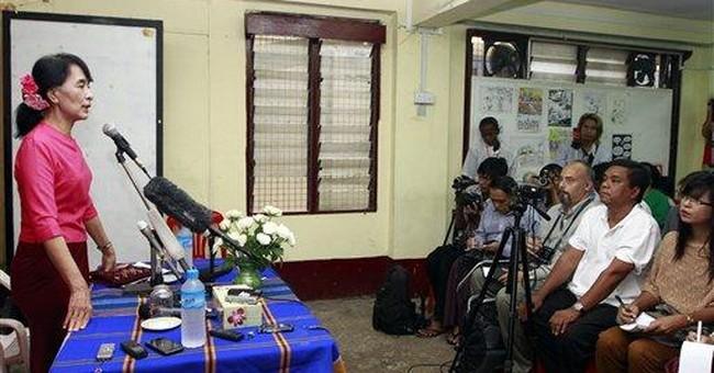 Myanmar's Suu Kyi says Thai trip was productive