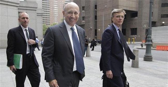 Goldman CEO testifies at ex-board member's trial