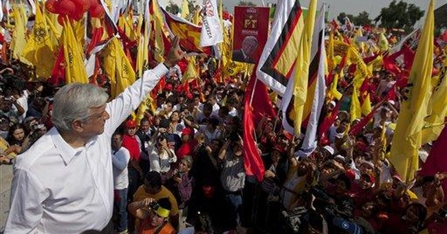 Mexican leftist candidate under fire from rivals