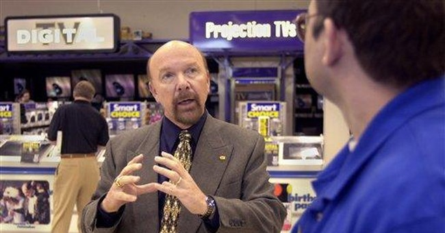 Best Buy founder quits board, explores sale