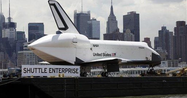 1 space shuttle already at museum, 2 more to go