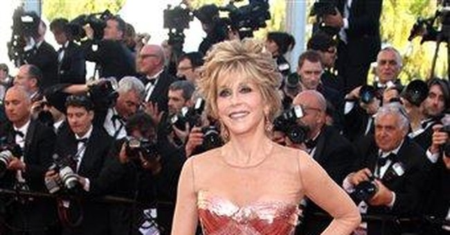 Fonda not taking Cannes glam attention seriously