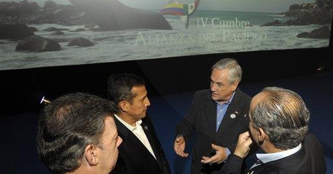 New alliance: Mexico, Colombia, Peru and Chile