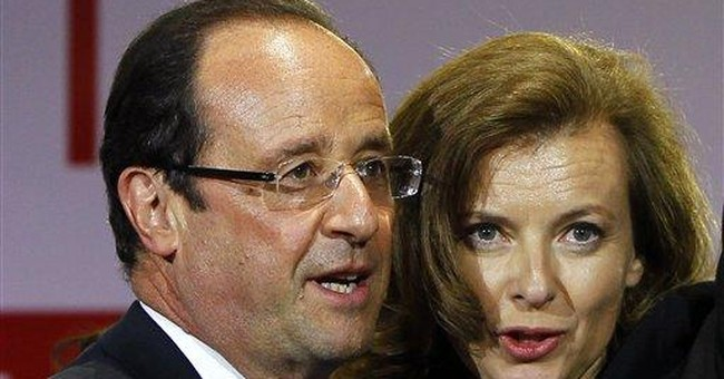 France aghast at tweet by French leader's partner