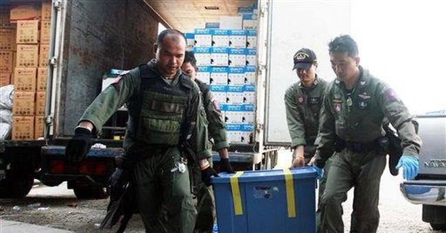 Thai police seize explosives, charge Lebanese man