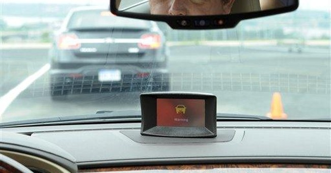Cars avoid crashes by talking to each other