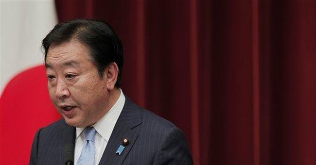 Japan PM says 2 nuke reactors must be restarted