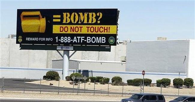 Flashlight bombs puzzle Phoenix authorities