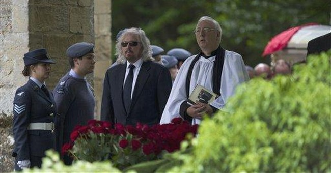 Surviving Bee Gee mourns Robin Gibb's loss
