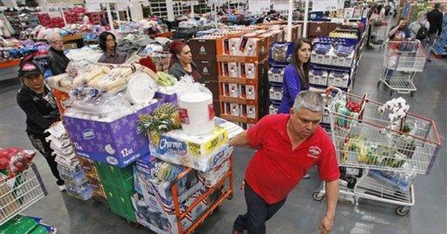 US wholesale stockpiles grew 0.6 percent in April