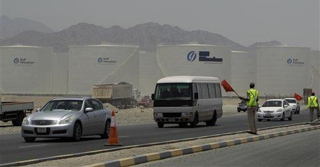 Emirates readies oil export detour to avoid Hormuz
