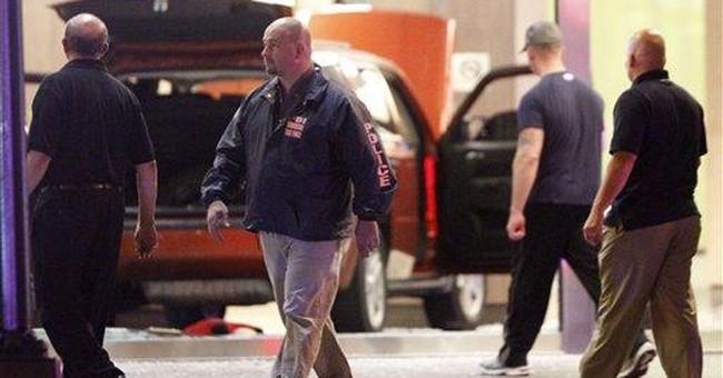 Police, FBI probe SUV crash into DC building