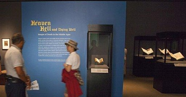 LA's Getty Museum illustrates death in Middle Ages