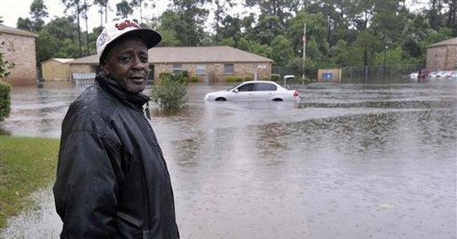 Heavy rains flood Fla. homes; man drowns in Gulf