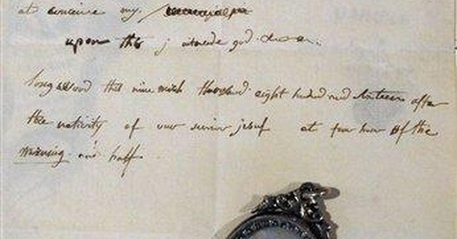 Rare Napoleon letter exhibits English skills