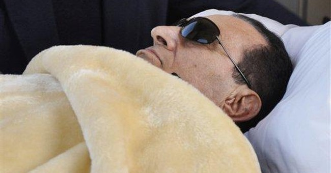 Mubarak's condition shows 'slight' improvement