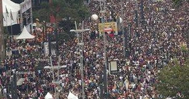 Sao Paulo celebrates gay pride with huge parade
