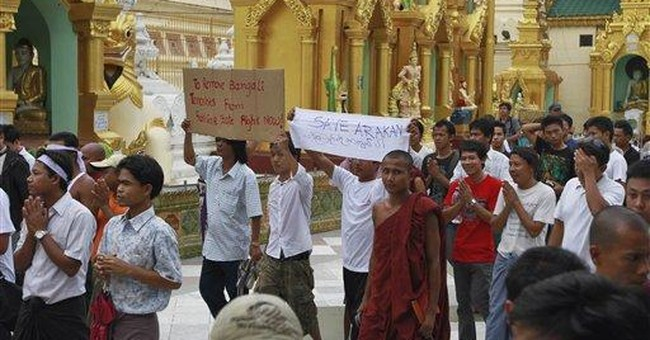 State of emergency declared for western Myanmar