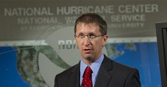 New hurricane center head turned fear into career