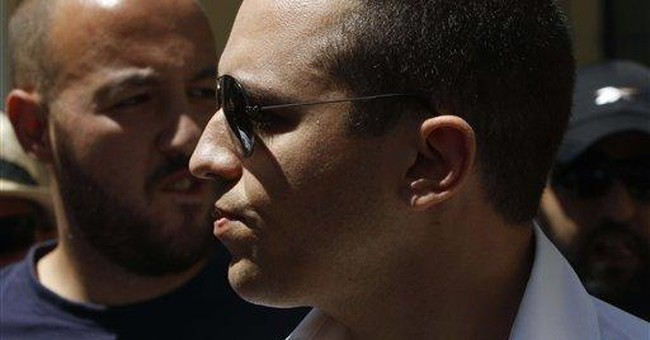 Greek right-wing extremist who slapped woman sues