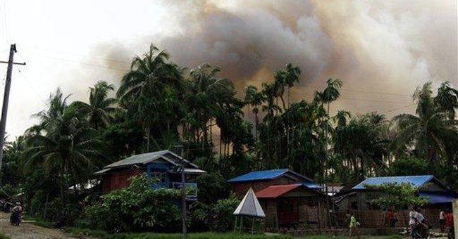 Ethnic strife continues in western Myanmar city