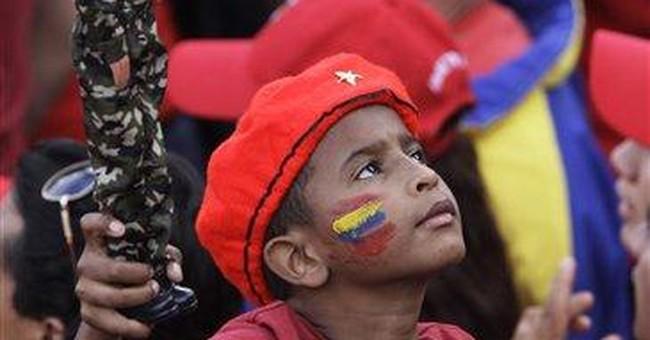 Chavez rallies thousands launching re-election bid