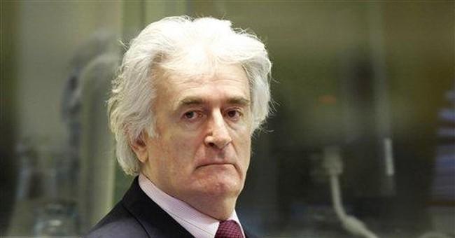 Karadzic asks judges to dismiss his genocide case