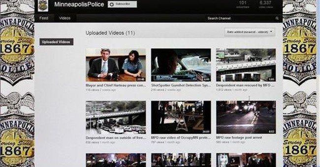 More police use YouTube to tell their own stories