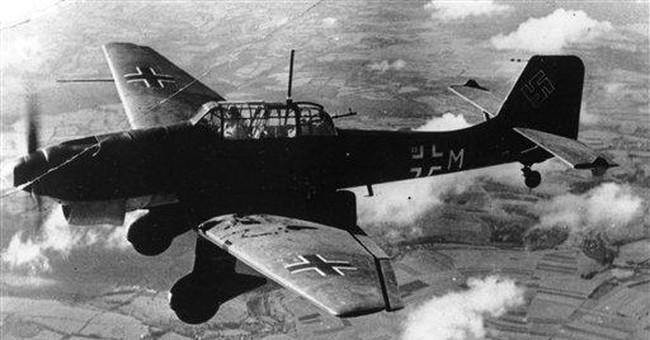 German divers recover Stuka bomber's radiator