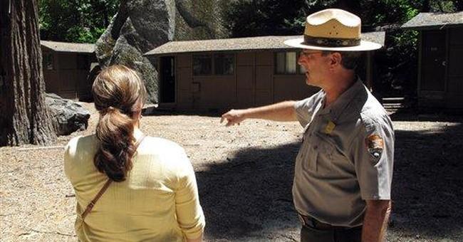 APNewsBreak: Rock risk forces Yosemite closures