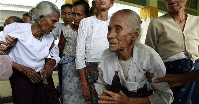 Food shortages add to misery in Myanmar strife
