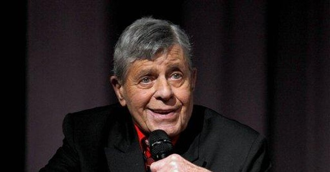 Comedian Jerry Lewis hospitalized for blood sugar