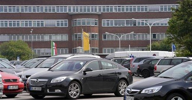 Opel outlines plan to revamp German plants