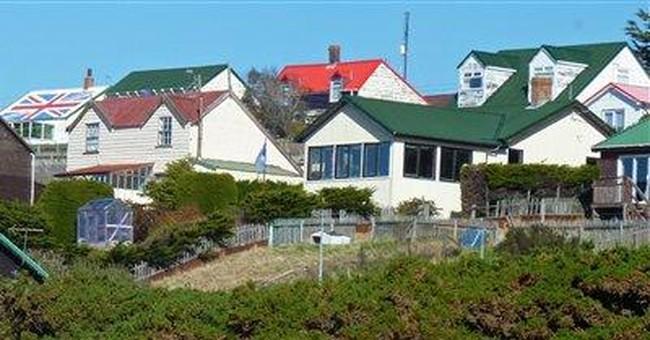 Falkland Islanders praise vote on their future