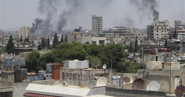 Red Cross: 3 aid workers injured in Syria blast