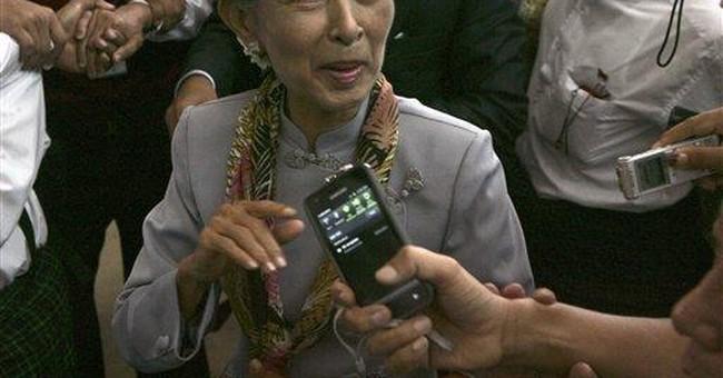 Aung San Suu Kyi over the years
