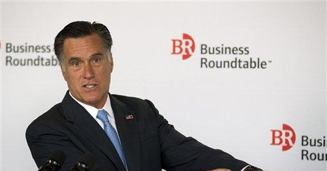 SPIN METER: Romney's public, private jobs claims