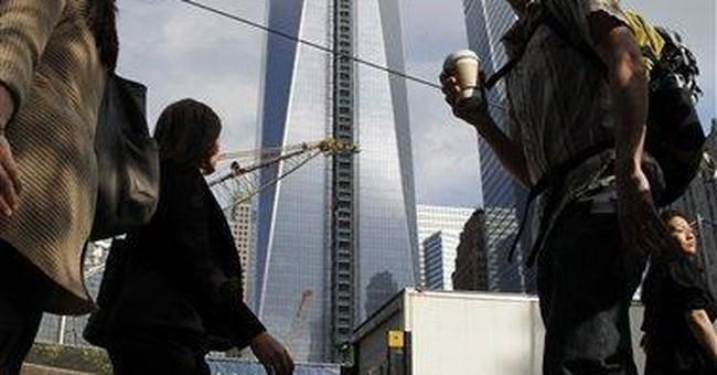 Obama tours new World Trade Center site