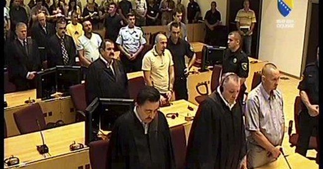 4 Bosnian Serbs sentenced for Srebrenica killings